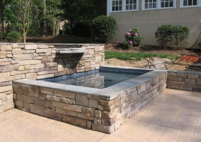 stone wall water-features-